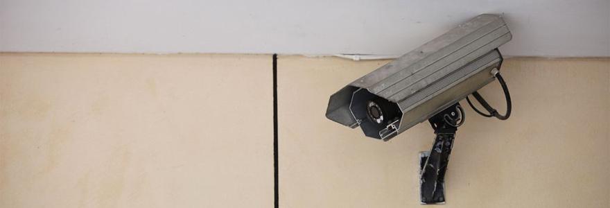 camera-appartenant-a-un-kit-de-video-surveillance